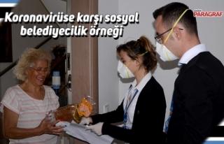 Koronavirüse karşı sosyal belediyecilik örneği