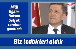 Milli Eğitim Bakanı Selçuk soruları yanıtladı