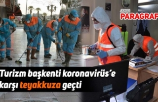 Turizm başkenti koronavirüs'e karşı teyakkuza...