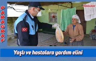 Yaşlı ve hastalara yardım elini