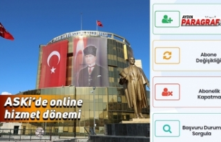 ASKi'de online hizmet dönemi