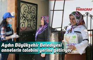 Aydın Büyükşehir Belediyesi annelerin talebini...