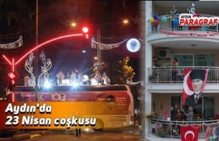 Aydın'da 23 Nisan coşkusu