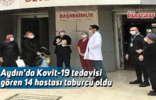 Aydın'da Kovit-19 tedavisi gören 14 hasta taburcu...