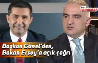 Başkan Günel'den, Bakan Ersoy'a açık çağrı