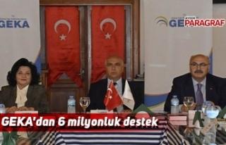 GEKA'dan 6 milyonluk destek