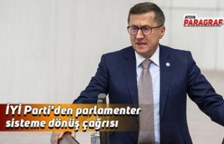 İYİ Parti'den parlamenter sisteme dönüş...