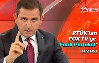 RTÜK'ten FOX TV'ye 'Fatih Portakal'...