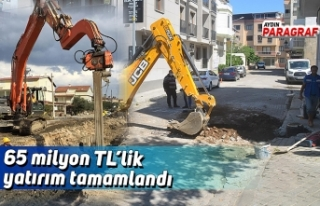 65 milyon TL yatırım tamamlandı