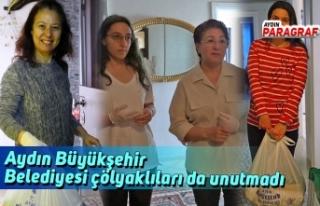 Aydın Büyükşehir Belediyesi çölyaklıları da...