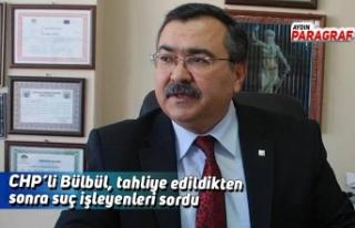 CHP'li Bülbül, tahliye edildikten sonra suç işleyenleri...