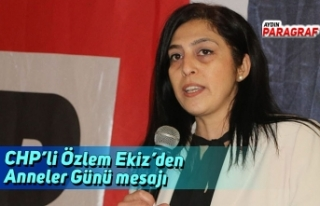 CHP'li Özlem Ekiz'den Anneler Günü mesajı