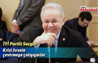 İYİ Partili Sezgin: Krizi fırsata çevirmeye çalışıyorlar