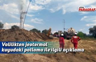 Valilikten jeotermal kuyudaki patlama ile ilgili açıklama