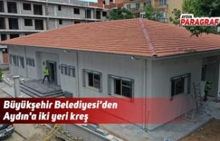 Büyükşehir Belediyesi'den Aydın'a iki...