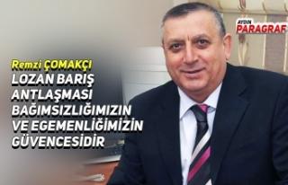 LOZAN BARIŞ ANTLAŞMASI BAĞIMSIZLIĞIMIZIN VE EGEMENLİĞİMİZİN...