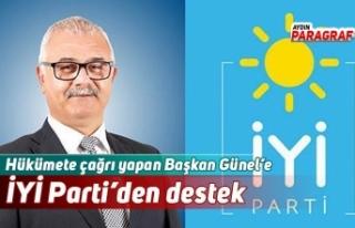 Hükümete çağrı yapan Başkan Günel'e İYİ...