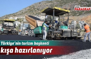 Türkiye'nin turizm başkenti kışa hazırlanıyor