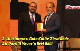 2. Uluslararası Gıda Kalite Zirvesinde AK Parti'li...