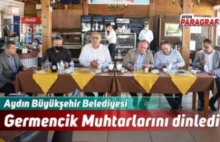 Aydın Büyükşehir Belediyesi Germencik Muhtarlarını...