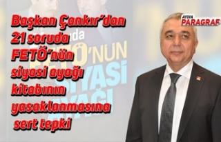 Başkan Çankır'dan 21 soruda FETÖ'nün siyasi...