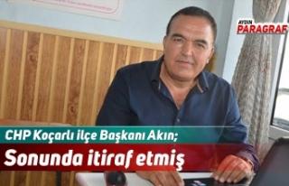 CHP'li Akın; Arıtma engellemesini sonunda itiraf...