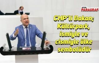 CHP'li Bakan; Kültürpark, ismiyle ve cismiyle...