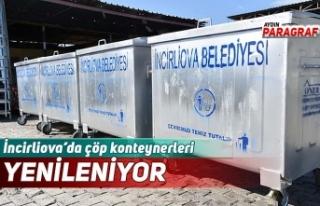 İncirliova'da çöp konteynerleri YENİLENİYOR