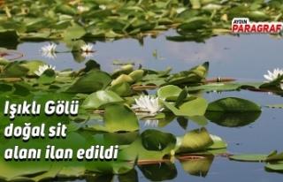 Işıklı Gölü doğal sit alanı ilan edildi