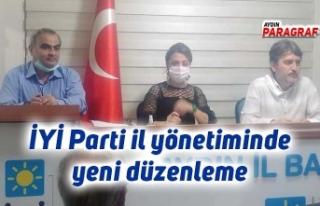 İYİ Parti il yönetiminde yeni düzenleme