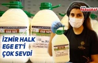 İZMİR HALK EGE ET'İ ÇOK SEVDİ