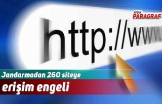 Jandarmadan 260 siteye erişim engeli
