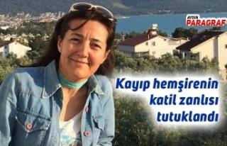 Kayıp hemşirenin katil zanlısı tutuklandı