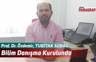 Prof. Dr. Özdemir, TUBİTAK SOBAG Bilim Danışma...