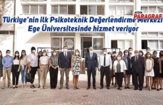 Türkiye'nin ilk Psikoteknik Değerlendirme Merkezi...