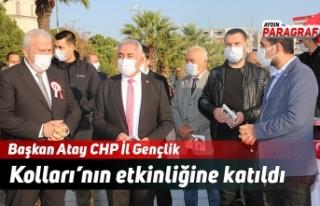 Başkan Atay CHP İl Gençlik Kolları'nın etkinliğine...