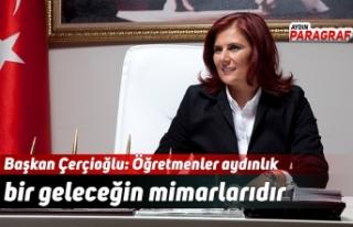 Başkan Çerçioğlu: Öğretmenler aydınlık bir...