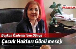Başkan Özdemir'den Dünya Çocuk Hakları Günü...