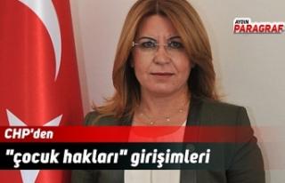"""CHP'den """"çocuk hakları"""" girişimleri"""