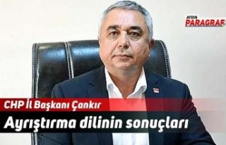 CHP İl Başkanı Çankır: Ayrıştırma dilinin...