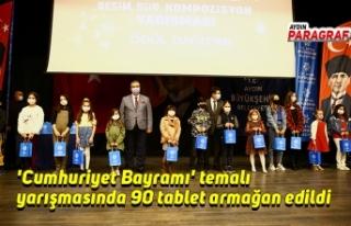 'Cumhuriyet Bayramı' temalı yarışmasında...