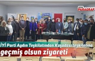 İYİ Parti Aydın Teşkilatından Kuşadası teşkilatına...