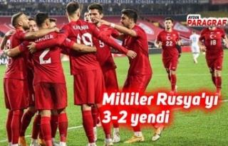 Milliler Rusya'yı 3-2 yendi