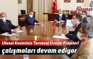 Ulusal Kesintisiz Tarımsal Üretim Projeleri çalışmaları...