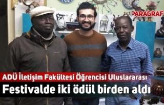 ADÜ İletişim Fakültesi Öğrencisi Uluslararası...