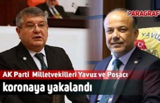 AK Partili Milletvekilleri Yavuz ve Posacı koronaya...