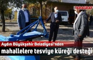 Aydın Büyükşehir Belediyesi'nden mahallelere...