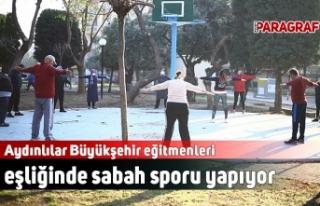 Aydınlılar Büyükşehir eğitmenleri eşliğinde...