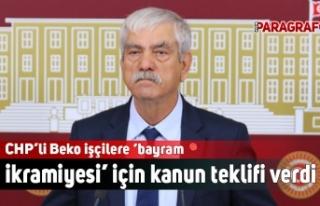 CHP'li Beko işçilere 'bayram ikramiyesi' için...