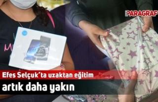 Efes Selçuk'ta uzaktan eğitim artık daha yakın
